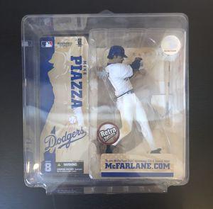 2004 McFarlane Sport Picks Retro Mike Piazza LA Los Angeles Dodgers MLB Baseball Action Figure Series 8 - BRAND NEW! for Sale in Fair Oaks, CA
