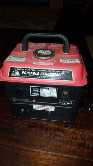 Portable generator for Sale in Pittsburgh, PA