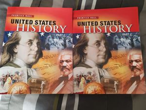 United States History Part and Part 2 Books for Sale in Lynchburg, VA