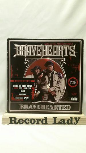 "Nas ""Bravehearts"" vinyl records Hip Hop for Sale in San Diego, CA"