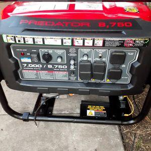 GENERATOR PREDATOR 8750 WATTS for Sale in San Antonio, TX