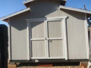 Shedes storage nuevas PONGA OFERTA SU COSTO ES$2200 for Sale in Perris, CA