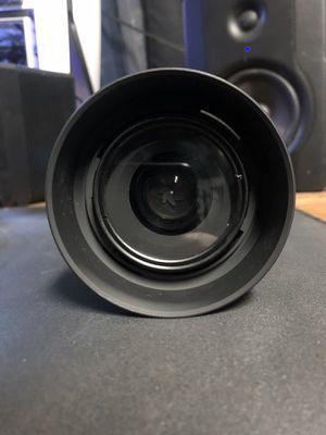 never used Nikon AF-S DX Nikkor 35 mm f/1.8G Lens with auto focus for Nikon DSLR cameras for Sale in El Monte, CA