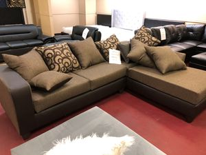 Furniture living room sectional Open 7 days a week 9:30-8pm Finance available 1486 West Buckingham Rd. garland TX 75042 $39 down payment for Sale in Garland, TX