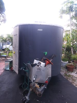 Enclosed trailer only for Sale in Margate, FL