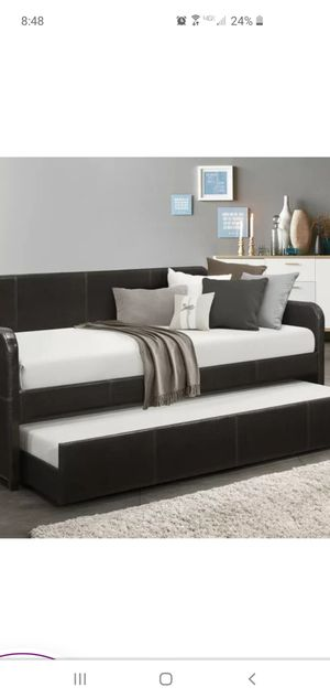 Bed frame with hideaway for Sale in Littleton, CO