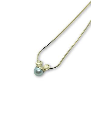 14k Pearl Mickey Necklace for Sale in Alexandria, VA
