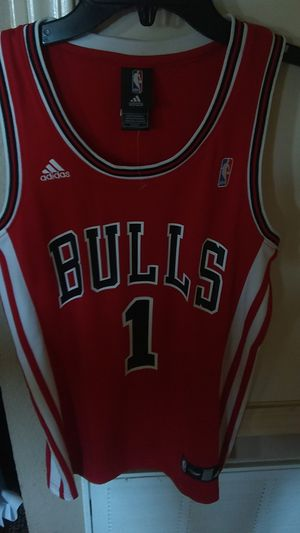 NBA basketball Chicago Bulls Jersey for Sale in El Paso, TX