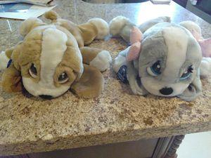 "APPLAUSE 12"" SAD SAM DOG FLOPPY PLUSH STUFFED 2 BEANIE for Sale, used for sale  Miami, FL"