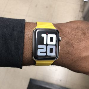 WOW apple Watch Stainless Steel 42mm Series 3 for Sale in Washington, DC