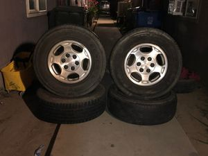 Stock chevy rims for Sale in Madera, CA