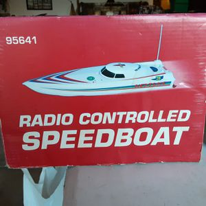 Radio Controlled speed boat twin 380 Motors new in box opened but never used for Sale in Lake Elsinore, CA
