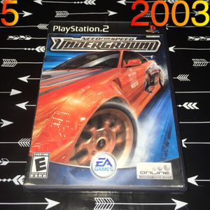 PS2 Need for Speed Underground CIB for Sale in Phoenix, AZ