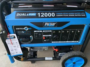 PULSAR DUAL FUEL 12,000 W BRAND NEW for Sale in Fontana, CA