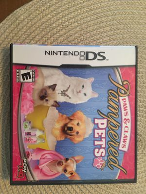 Nintendo ds pampered pets for Sale in Visalia, CA