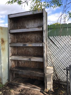 Free Wood Storage Shelf. Great for Shed or Garage. for Sale in San Diego, CA