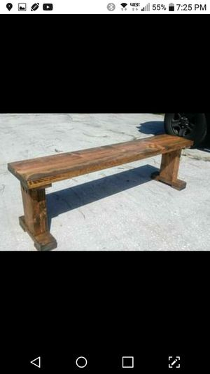 Farmstyle Bench for Sale in TEMPLE TERR, FL