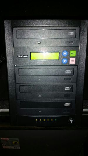 Tascam dvd/CD 4X Duplicater for Sale in Manassas, VA