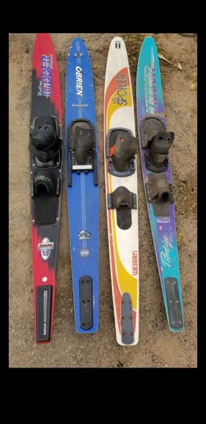 VERY FUN ---- Wake skate board for jetski boat beach and lake fun wakeboarding water skier ski $20 for all good price for Sale in Fontana, CA