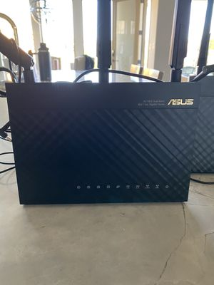 (2) Asus Wireless WiFi Routers for Sale in Spicewood, TX