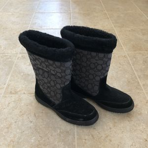 Size 8 COACH Boots for Sale in Round Hill, VA