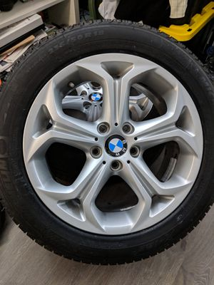 "BMW X3 OEM wheels 18"" w/ Michelin X-Ice Tires for Sale in Falls Church, VA"