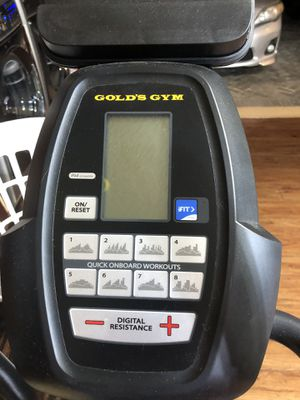 Gold's GYM elliptical stride trainer 350i for Sale in Pompano Beach, FL