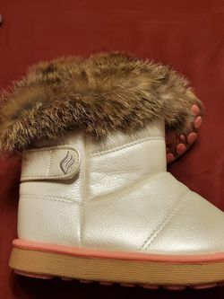 Faux Fur Winter Toddler Boots for Sale in Piscataway,  NJ