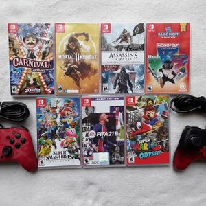Nintendo Switch Games and Controllers for Sale in Chandler, AZ