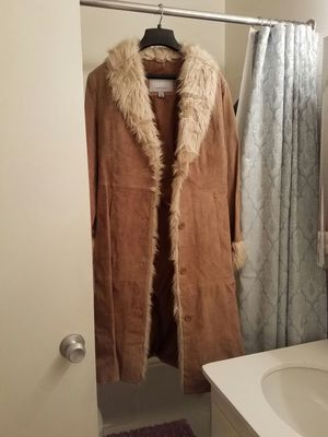 Wilsons Leather brown long coat for Sale in West Los Angeles, CA
