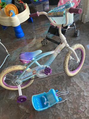 "16"" frozen bike with sled attachment for Sale in Chandler, AZ"