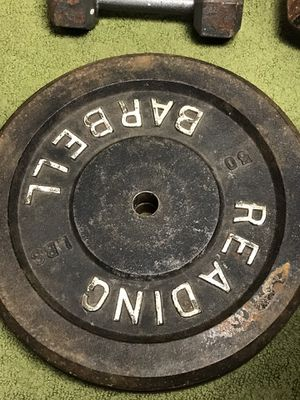 Weights Olympic and standard 45an50 for Sale in Lebanon, PA