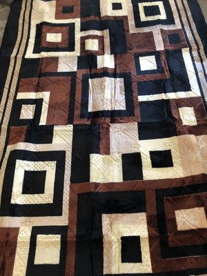 Brown Washable Rug 6.5 x 9.8 very soft and warm good for kids room or for pets for Sale in La Mesa, CA