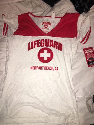 Lifeguard baseball tee size L for Sale in Hayward, CA