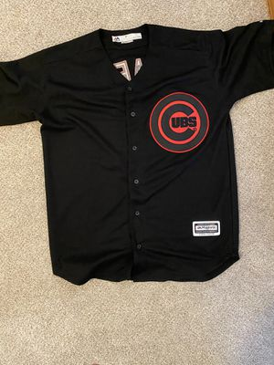 Cubs world series jersey Javy Baez size mmm for Sale in Lynnwood, WA