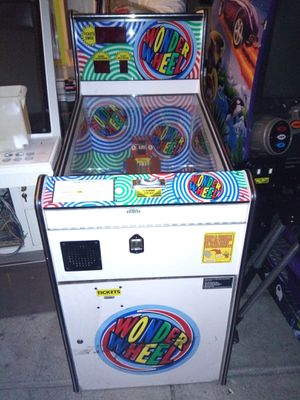 Wonder Wheel Ticket Arcade Game for Sale in Rancho Cucamonga, CA