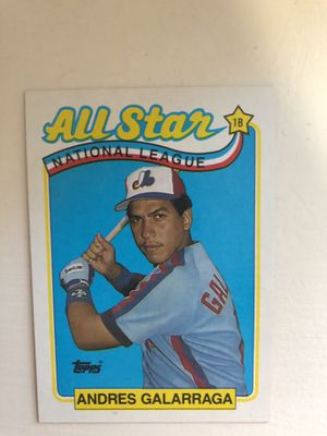 Andres Galarraga Topps 1989 Card for Sale in Atlanta, GA