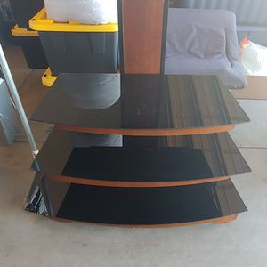 3 Piece Glass T.V. Stand for Sale in Mesa, AZ