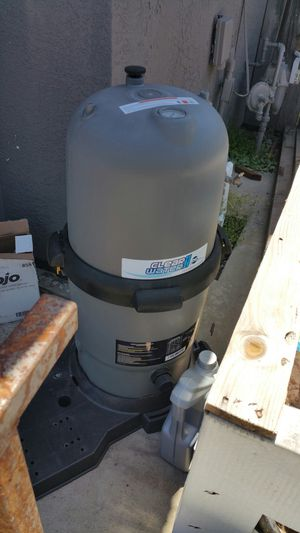 Clear water ii pool pump and filter for Sale in Ceres, CA