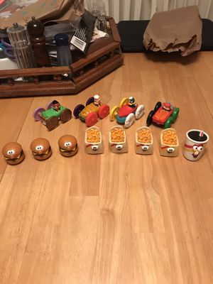 1989 Burger King and McDonald's happy meal toys for Sale in Eugene, OR