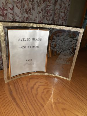 Glass foto frame. for Sale in Kent, WA
