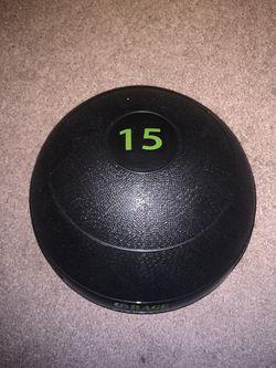 15lb Medicine Ball for Sale in Fresno,  CA