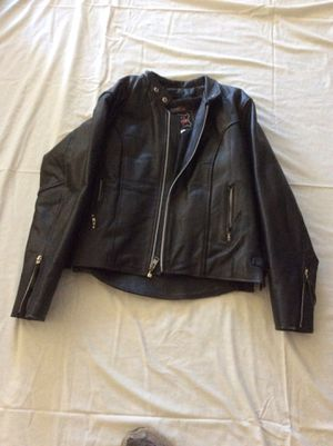 Leather jacket and chaps for Sale in Moreno Valley, CA