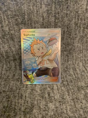 Pokemon Burning Shadows Sophocles Full Art for Sale in Orange, CA