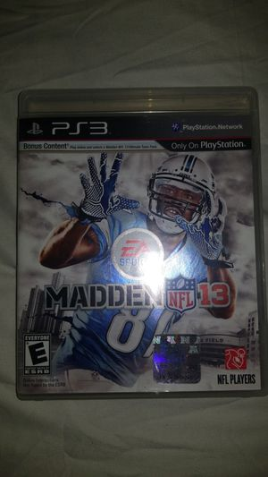 Madden 13 ps3 game for Sale in Tacoma, WA