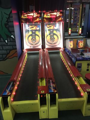 Fire ball skeeball arcade redemption ticket game for Sale in Fresno, CA