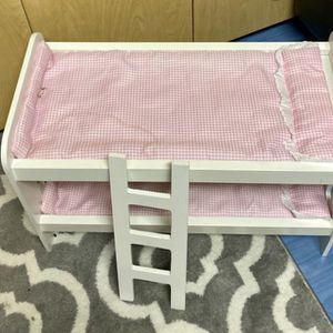 Bunk Bed For Two Dolls With Ladder for Sale in Fort Lauderdale, FL