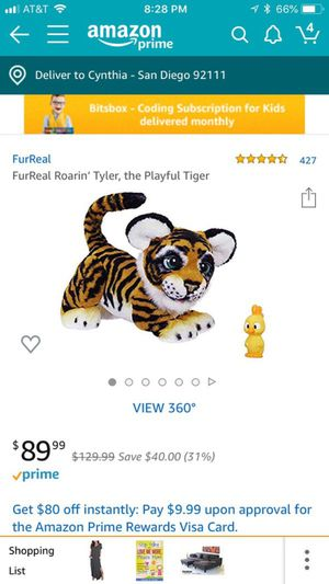 FurReal friends tiger for Sale in San Diego, CA