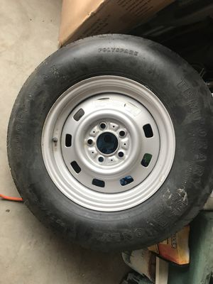 Spare tire/rim P225/75D15 for Sale in Leland, NC