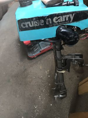 Cruise and carry 12lb outboard for Sale in Lyman, ME